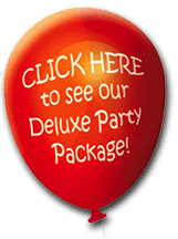 Children's Party Entertainment Packages - deluxe party package for our kids entertainers in manchester
