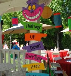 Mad hatter kids party