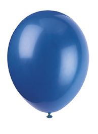 blue latex balloons fro kids party