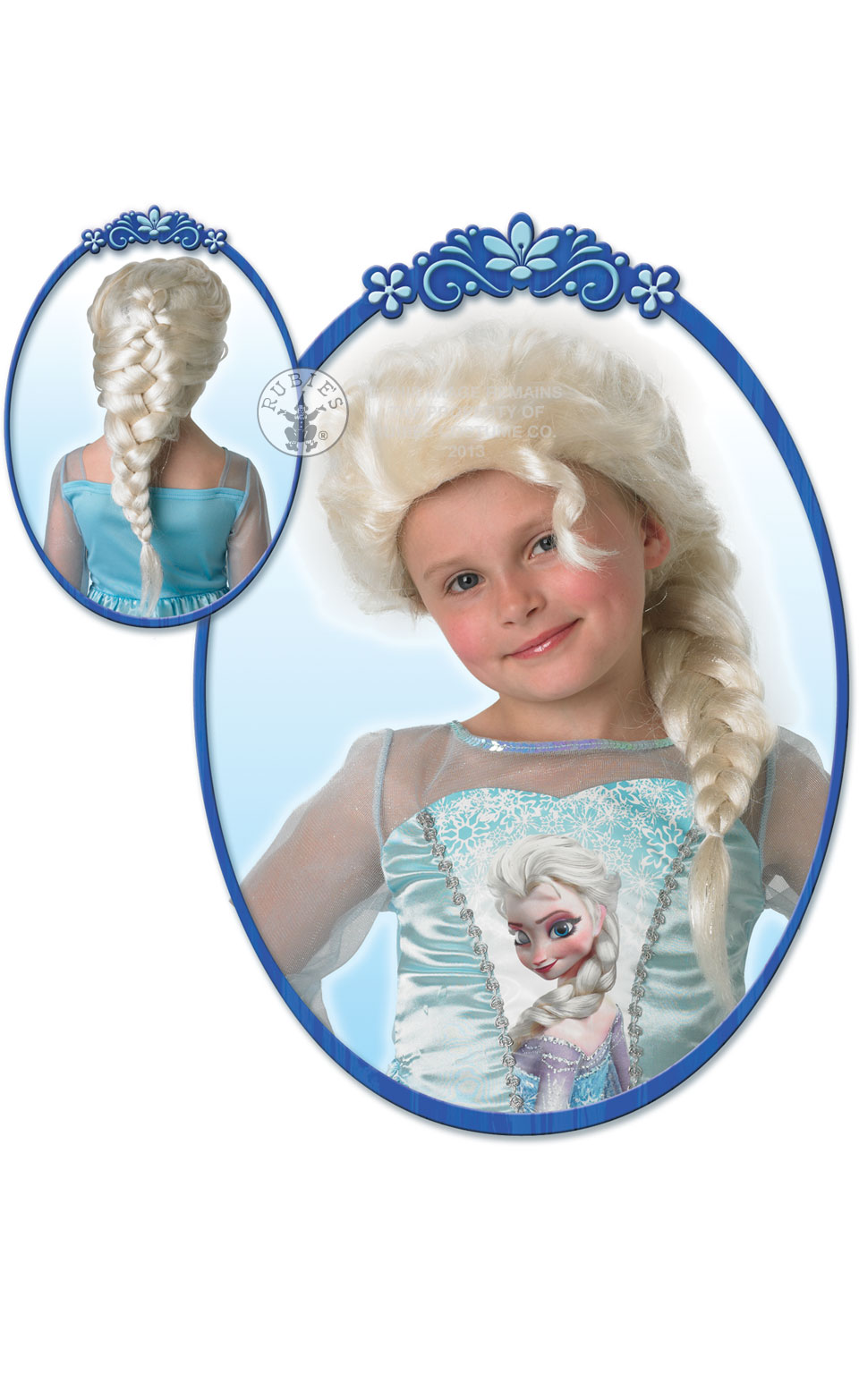 wig for disney elsa costume