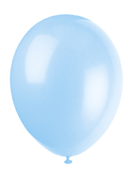 light blue 12 inch balloons
