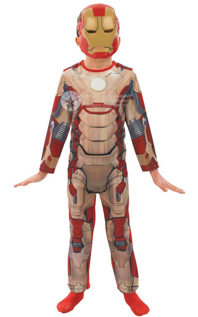 fancy dress iron man