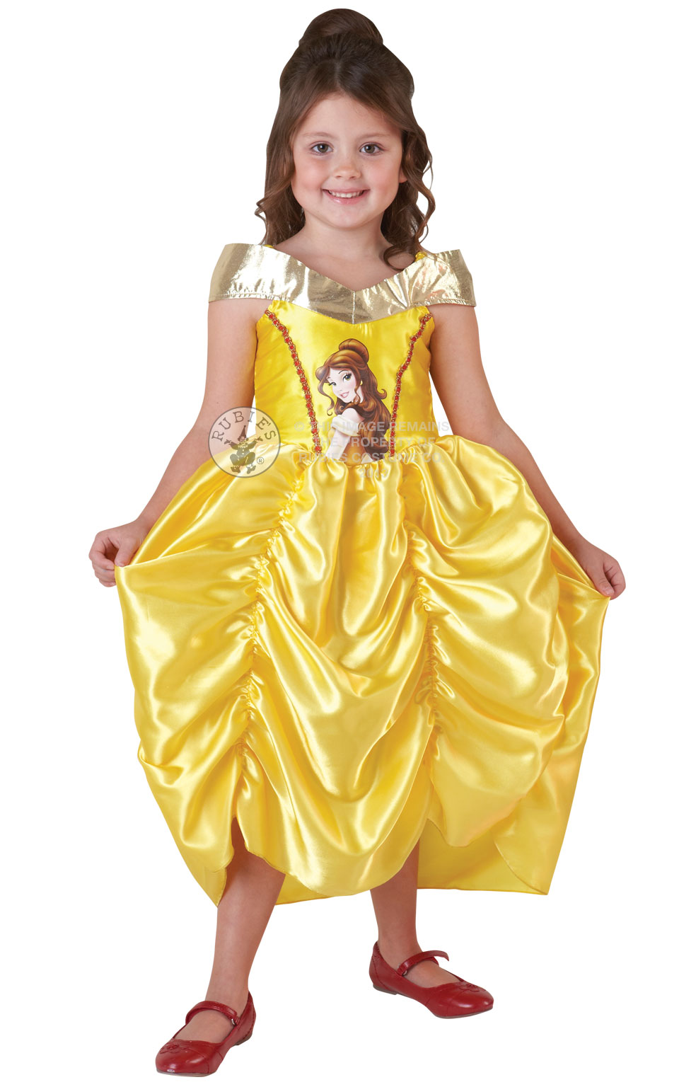 girls belle fancy dress