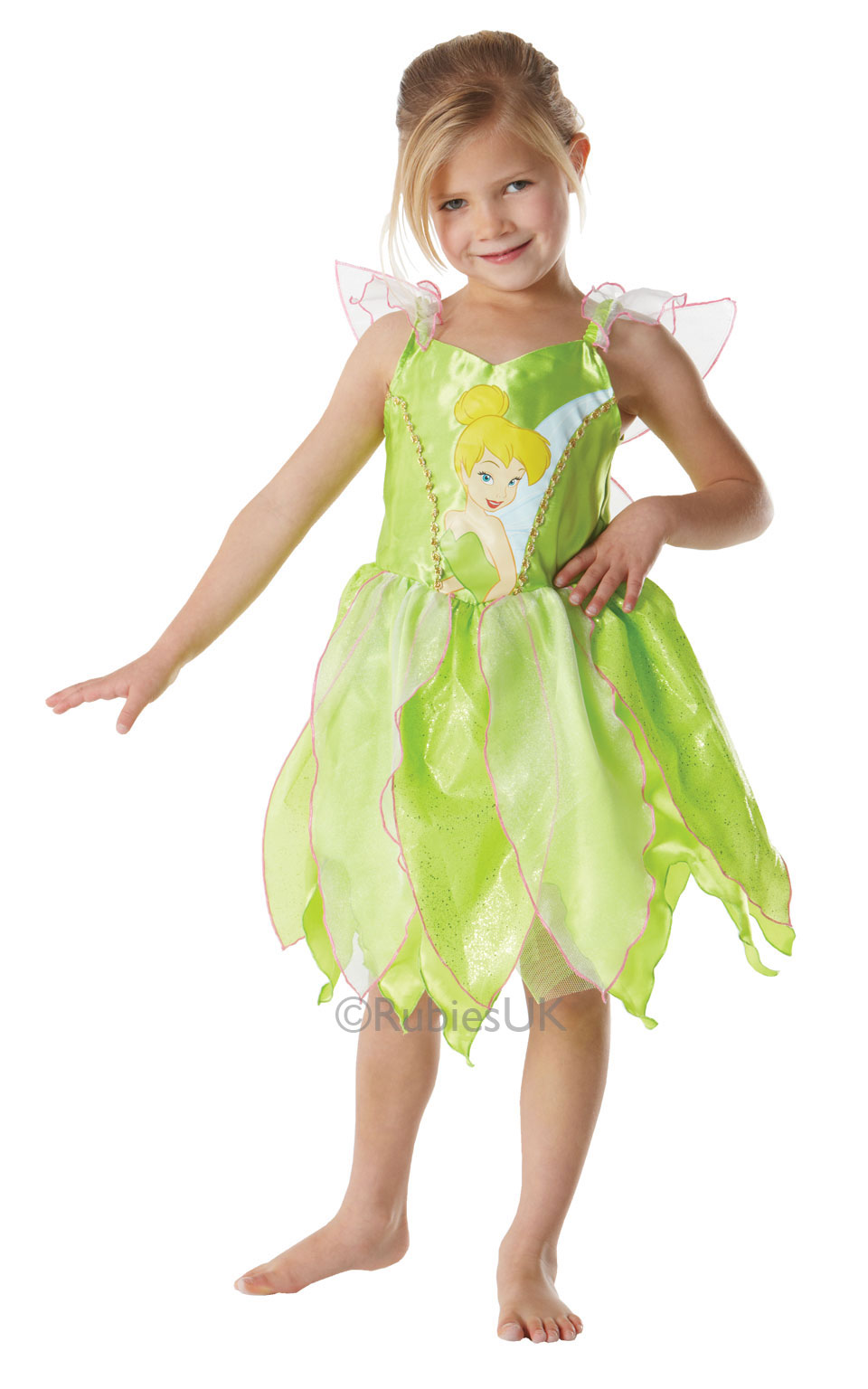 green fairy costume - tinker bell
