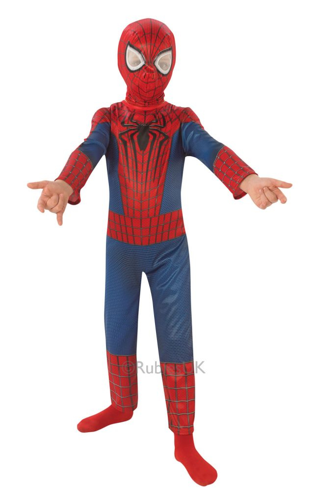 spiderman boys costume
