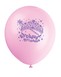 party balloons for princess party