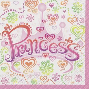 childrens princess napkins
