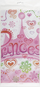plastic princess themed tablecover