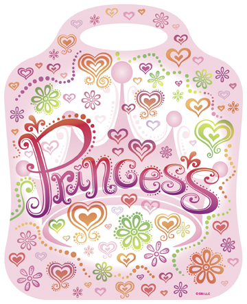 childrens party bags - princess themed
