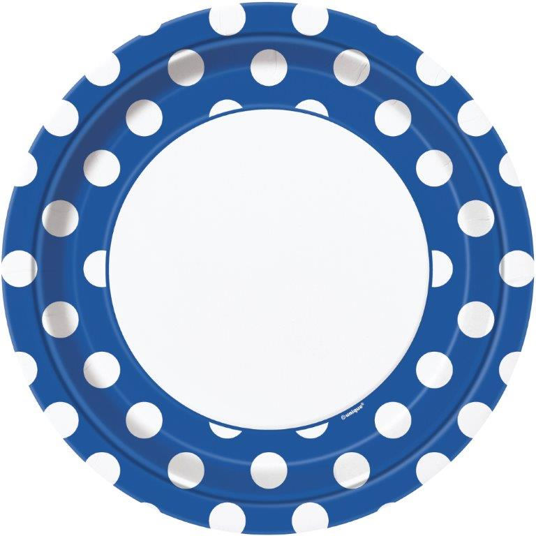 Blue Decorative Dots