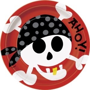 plates for childrens pirate party