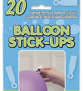 balloon stick ons