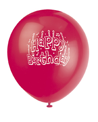 birthday kids party balloons