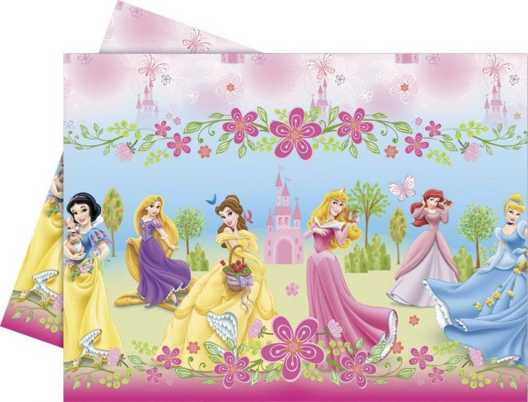 Disney princess tablecover