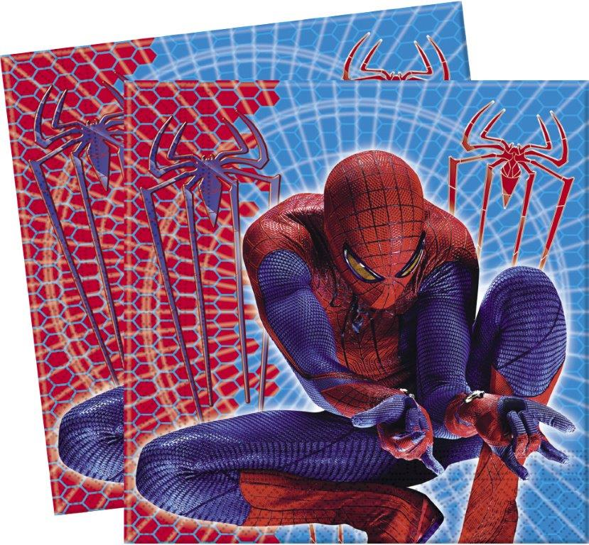 spiderman themed napkins
