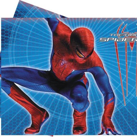spiderman table cover children party