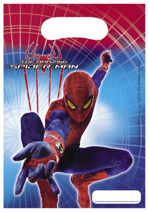childrens party bags spiderman