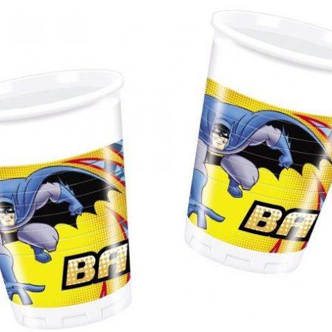 kids party cups - batman`