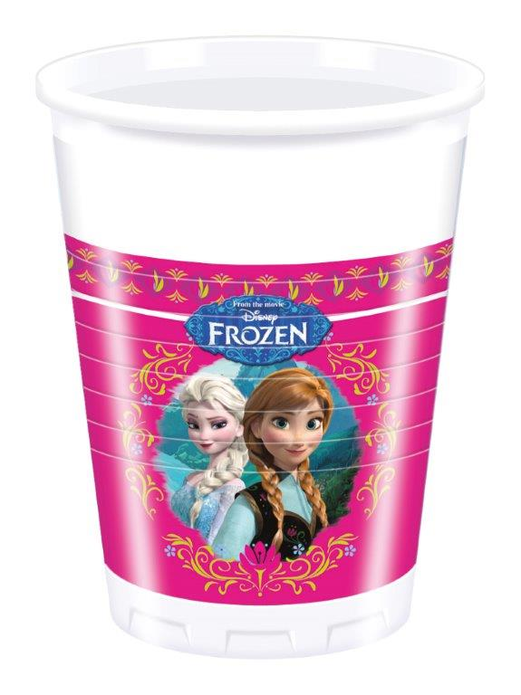 kids party cups frozen theme