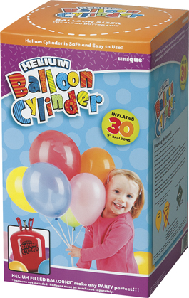 disposable helium canister