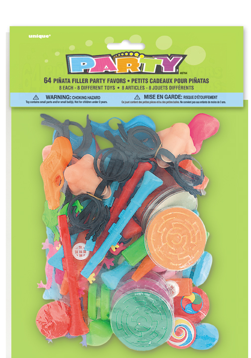 party favor pinata filler