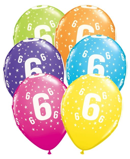 age 6 balloons