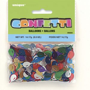 foil balloons confetti