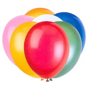 mixed balloons