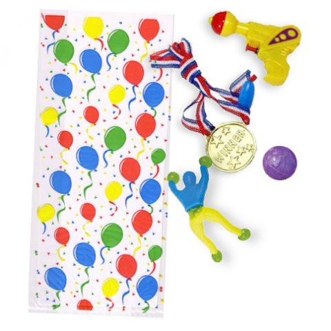 4 toy party bags