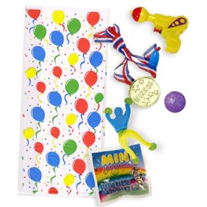 5 toy party bags