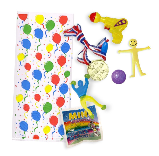 6 toy party bags