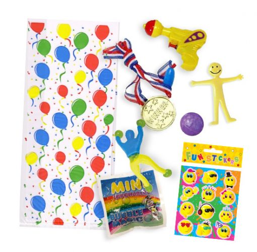 7 toy party bags