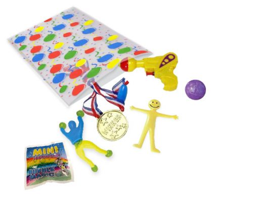 pre filled party bags - 6 toys