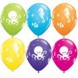 sea creatures balloons kids party
