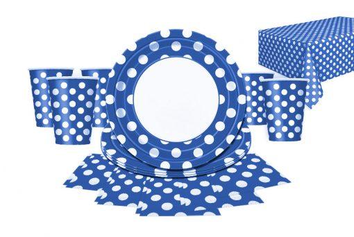 blue dots partyware