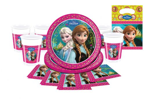 frozen themed party ware