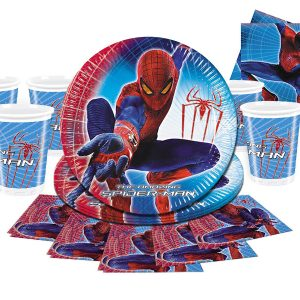 spiderman party ware
