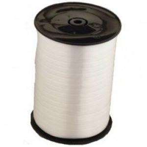 white curling ribbon