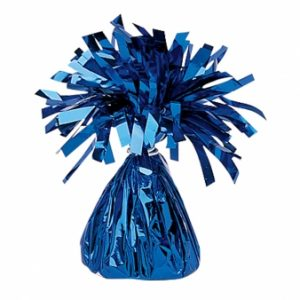 blue balloon foil weight