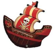 pirate ship qualatex balloon foil