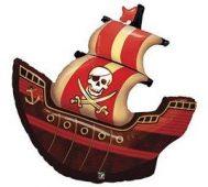 pirate ship qualatex balloon foil