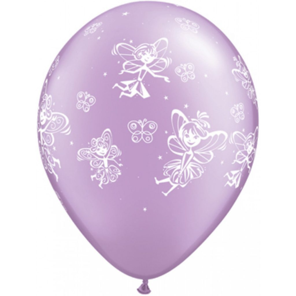 fairies theme balloons