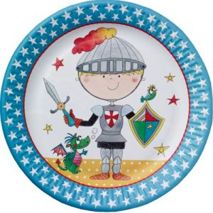 knight party plates