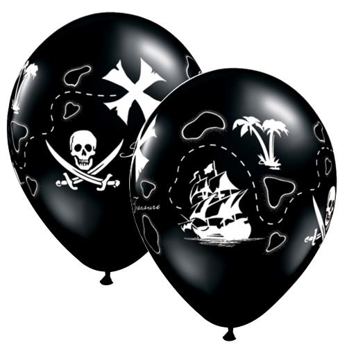 treasure map balloons
