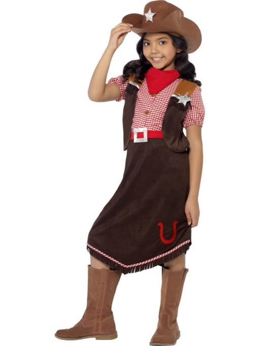 cowgirl costume deluxe
