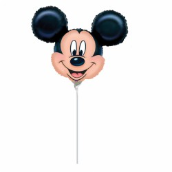 Mickey on a string