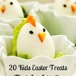 chick eggs - kids party ideas