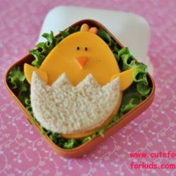 chick sandwiches with cheese slices