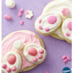 bunny tail cookies - fun kids party food and so easy to do