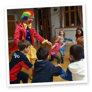 clown for childrens parties